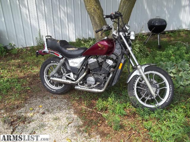 armslist for sale trade 1983 honda vt 500 c shadow. Black Bedroom Furniture Sets. Home Design Ideas