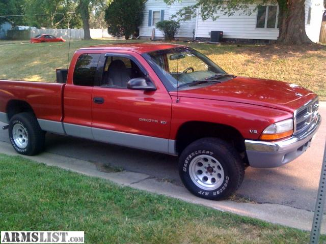 armslist for sale trade 1998 dodge dakota 4x4. Black Bedroom Furniture Sets. Home Design Ideas