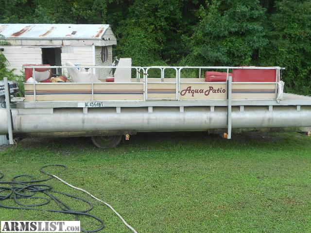 I Would Like To Trade My Pontoon Boat For Something Else I Might Use.  4 Wheeler, Guns, Ammo, Tractor, Cash. Let Me Know What You Have In Mind.