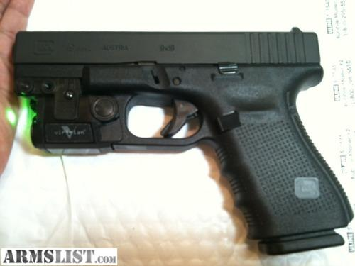 glock gen laser viridian combo armslist c5l rounds fired less than round