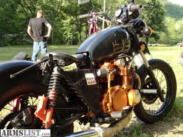 armslist - for trade: 1980 suzuki gs550 john dilinger bobber