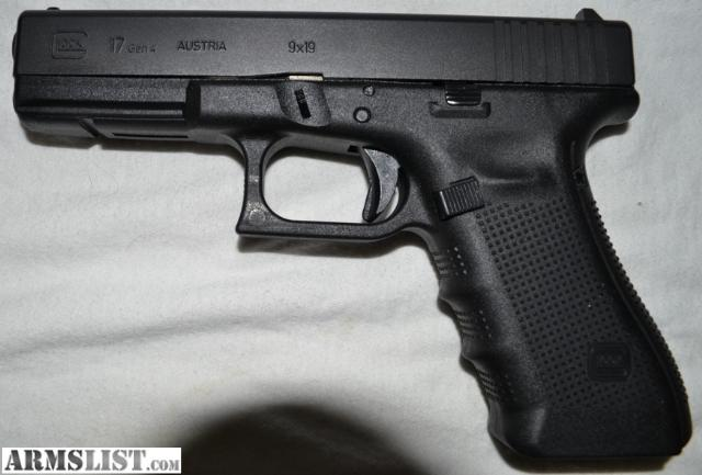 ARMSLIST - For Sale/Trade: Gen 4 Glock 17 w/ Two Holsters ...