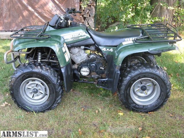 ARMSLIST - For Sale: ATV : Yamaha Big Bear 400 4x4