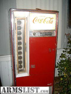 I Have A Early 1960s Coca Cola Vending Machine The Lights Work And Compressor Works As Well Coin Mechanism Could Be Made To With Minimal