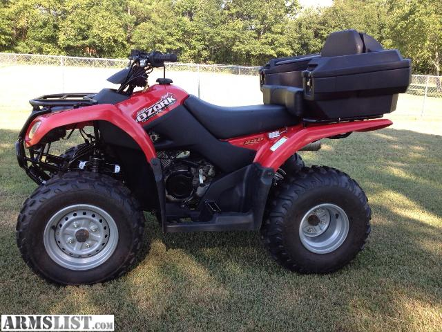 ARMSLIST - For Sale/Trade: Suzuki Ozark 250 ATV/Fourwheeler **LIKE NEW**