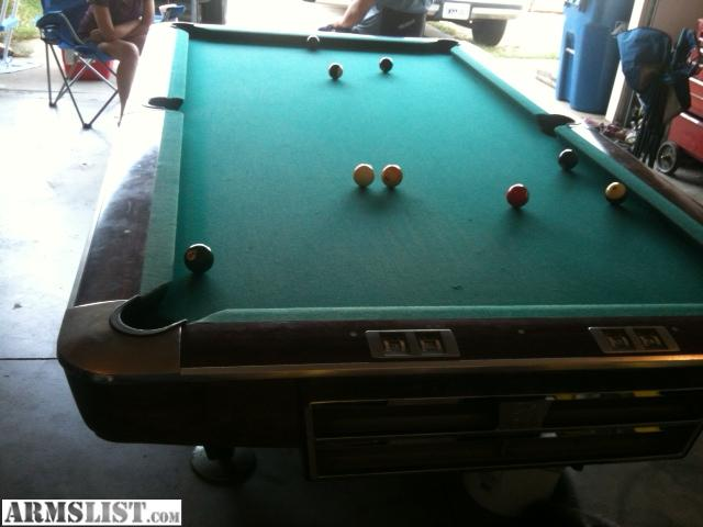 Armslist for trade pool table for Pool trading