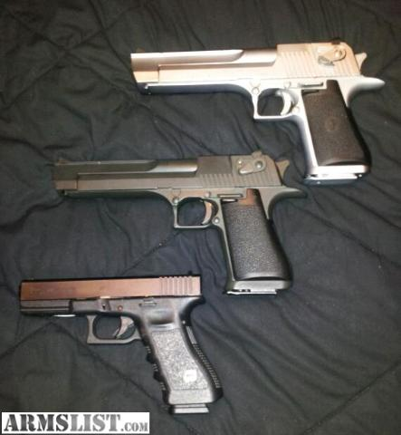 Desert Eagle Pistol - How to identify the model