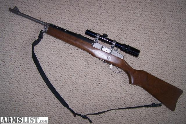 Armslist For Sale Sturm Ruger Stainless Wood Mini 14 223 223
