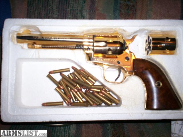 ARMSLIST - For Sale: gold plated 22 pistol