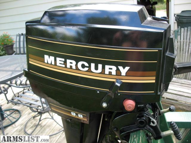 Armslist for sale trade mercury 9 8 outboard motor for Mercury outboard motor for sale