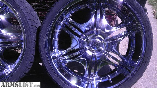 22 Inch Rim And Tire Package >> ARMSLIST - For Sale/Trade: 22 inch rims & tire package