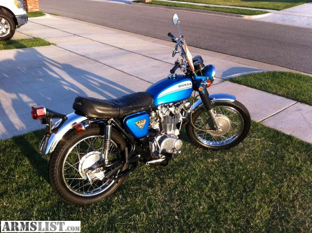 ARMSLIST - For Sale/Trade: 1970 honda cl 450 motorcycle
