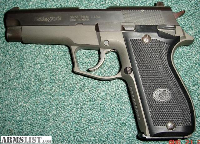 ARMSLIST - For Sale: DAEWOO DP51 9MM semi auto