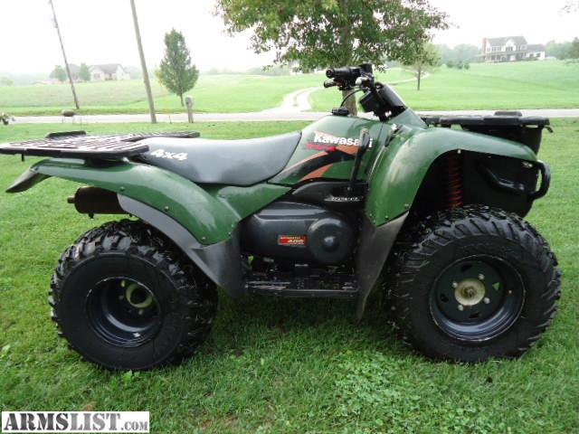 armslist for sale kawasaki prairie 400 4 wheeler sold. Black Bedroom Furniture Sets. Home Design Ideas