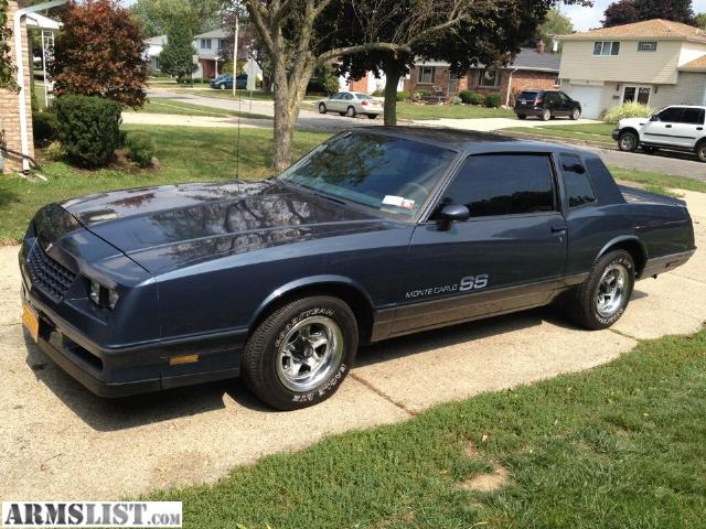 armslist for trade 1984 monte carlo ss mint. Black Bedroom Furniture Sets. Home Design Ideas