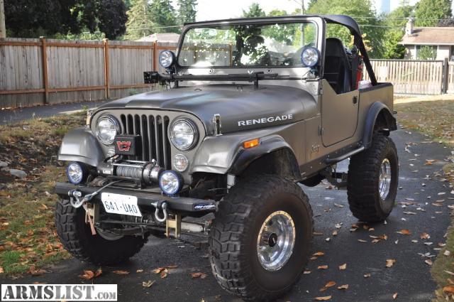 armslist for sale trade 1982 jeep cj7. Black Bedroom Furniture Sets. Home Design Ideas
