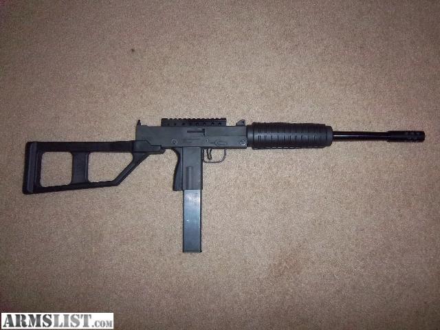 ARMSLIST - For Sale/Trade: Masterpiece Arms MAC-10 9mm carbine
