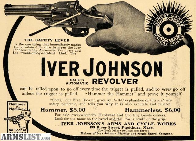 Iver johnson serial number dating 9