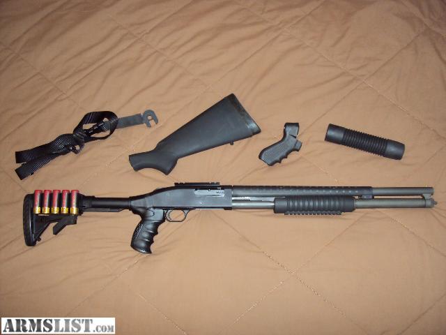 ARMSLIST - For Sale: Mossberg 500 Persuader 8 shot ...