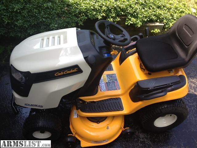 Cub Cadet Ltx 1042 Kw Lawn Tractor : Armslist for sale cub cadet ltx kw hour w