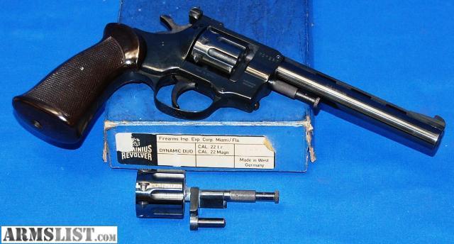 Arminius Hw7 22 Magnum Cylinder