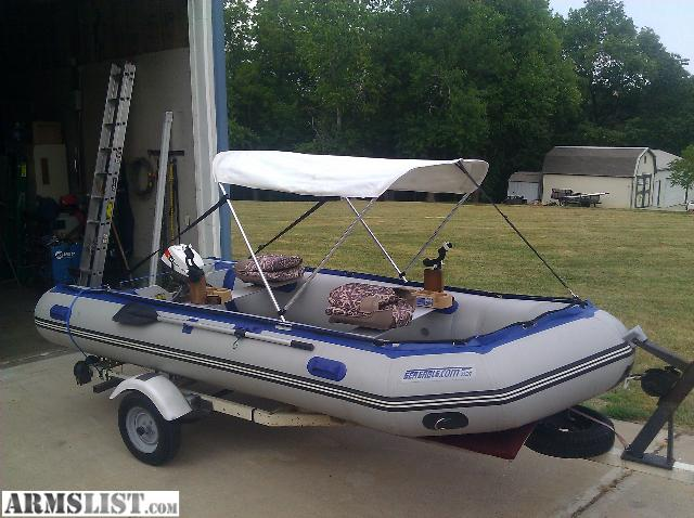 $2000/obo Up for sale is a 145r Sea eagle fishing boat comes with TONS of extras fish/depth finder trailer canopy seats ect....... I also have a motor ... & ARMSLIST - For Sale/Trade: Sea Eagle Boat. Better than Jon Boat.