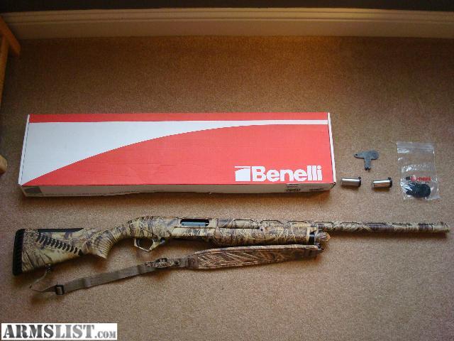"""ARMSLIST - For Sale: Benelli Super Nova 28"""" Barrel, Max-4"""