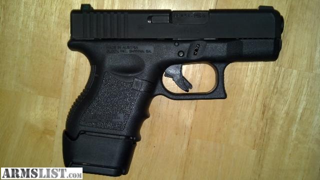 ARMSLIST - For Sale/Trade: Glock G26 gen 2.5