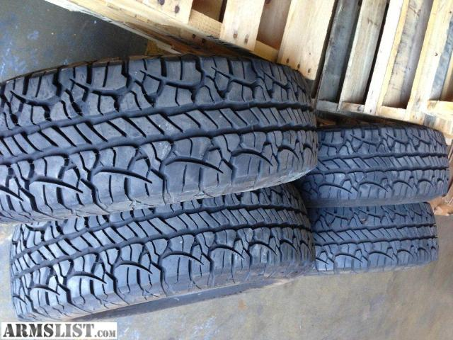 BFG Rugged Trail All Terrain Tires. Set Of Four (4). Size 275/70/18, Which  Is Equal To 33 X 11 X 18. Only 3500 Miles On Them, Took Them Off To Put On  35 ...