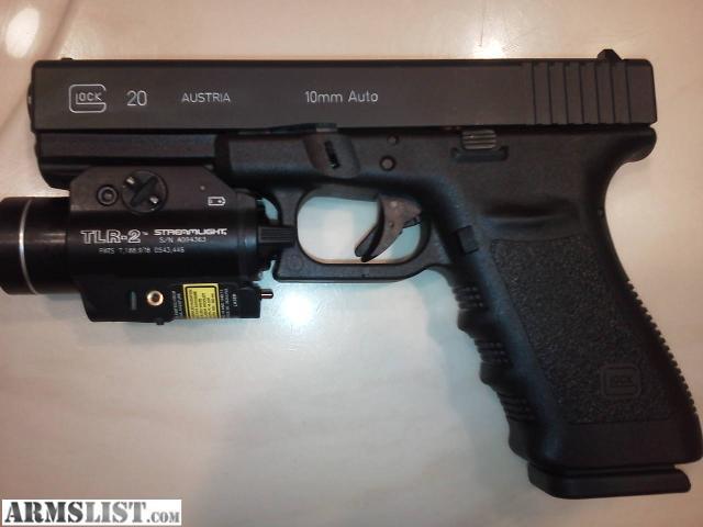 ARMSLIST - For Sale: GEN 3 GLOCK 20 SF 10mm