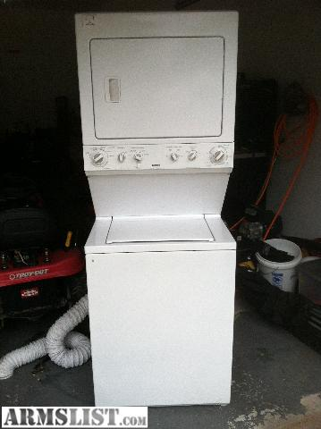kenmore washer dryer combo. share: $ 350. have a 2003 kenmore stacked washer dryer unit combo e