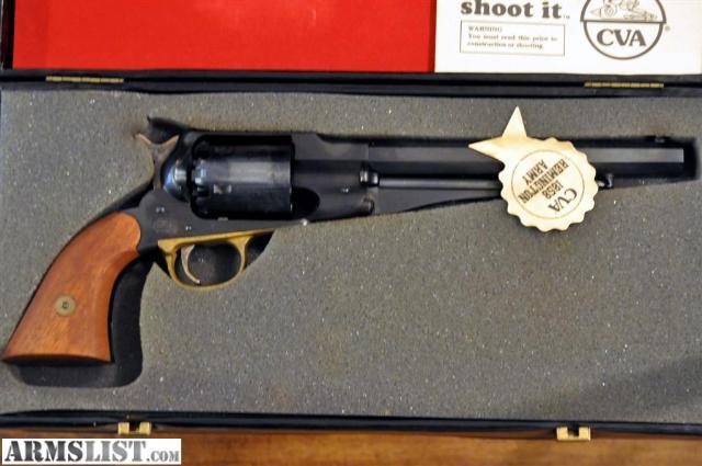 Armslist For Sale Rv630 Cva 1858 Remington Army 44