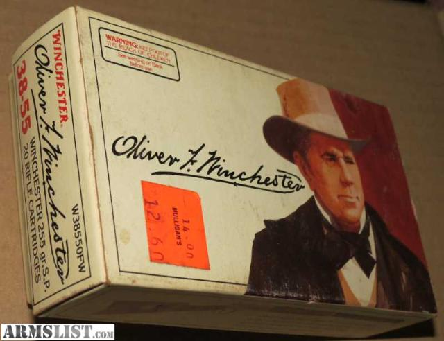 ARMSLIST - For Sale: Oliver Winchester .38-55 Commemorative Ammo