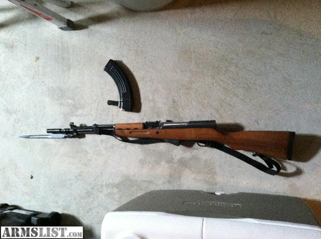 Selling new Serbian SKS, only has been fired 3 times. Magazine included. Contact Boris via text REDACTED or email REDACTED.
