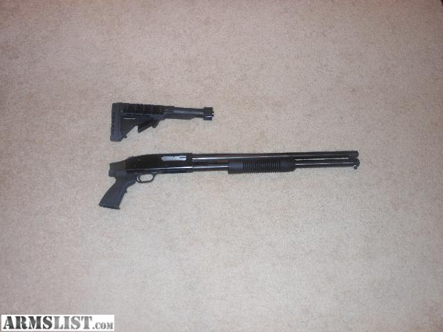 "ARMSLIST - For Sale: Mossberg 20"" 8 shot tube, Tactical ..."