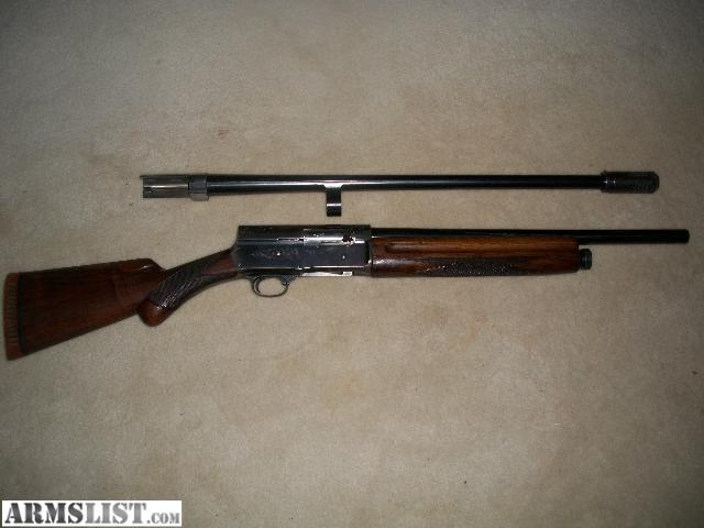 ARMSLIST - For Trade: 1949 belgium browning a5
