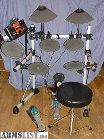 Armslist for sale trade yamaha dtxplorer electronic drums for Yamaha electronic drum kit for sale
