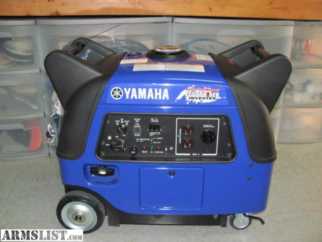 Armslist for sale trade new yamaha super quiet for Yamaha generator for sale