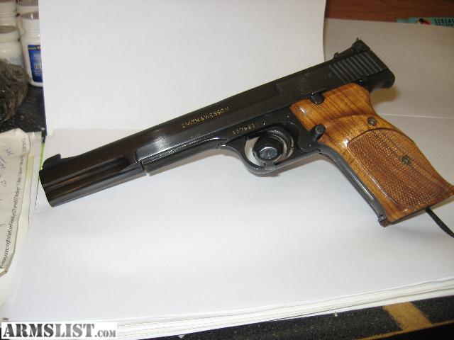 Smith and wesson 22 long rifle ctg