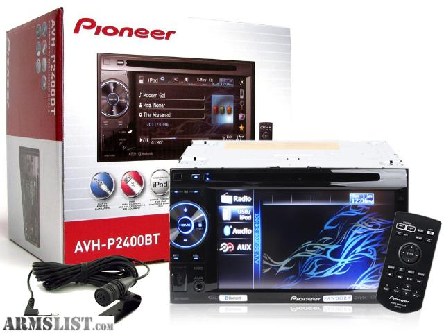 armslist for sale pioneer avh 2400bt double din. Black Bedroom Furniture Sets. Home Design Ideas