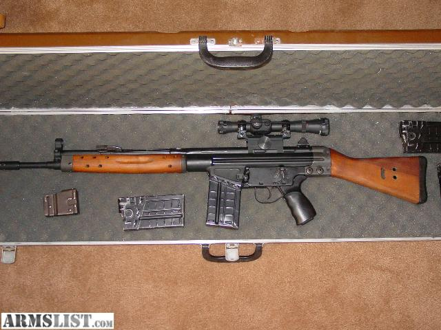 Cetme G3 For Sale: For Sale/Trade: Semi-automatic 308 Cetme