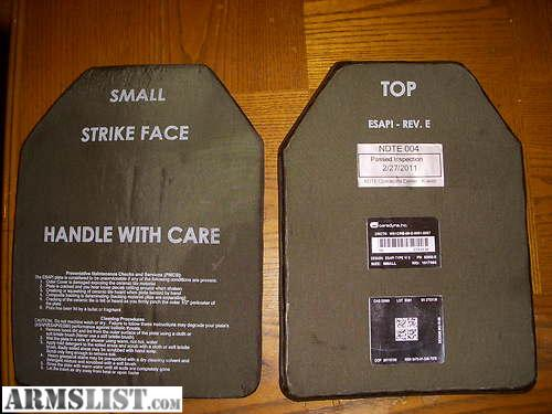I am currently selling a set of small ballistic plates front back and both sides they are rated up to 7.62 armor piercing multiple strike new ... & ARMSLIST - For Sale: Full set of Ceramic Ballistic Plates Multi ...