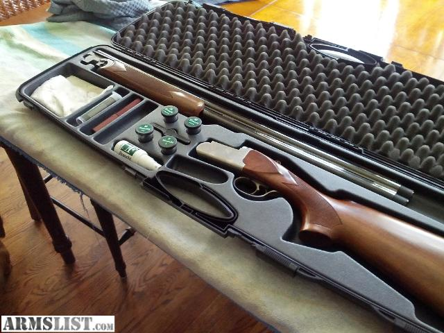 armslist - for sale: benelli diamond madefranchi over under