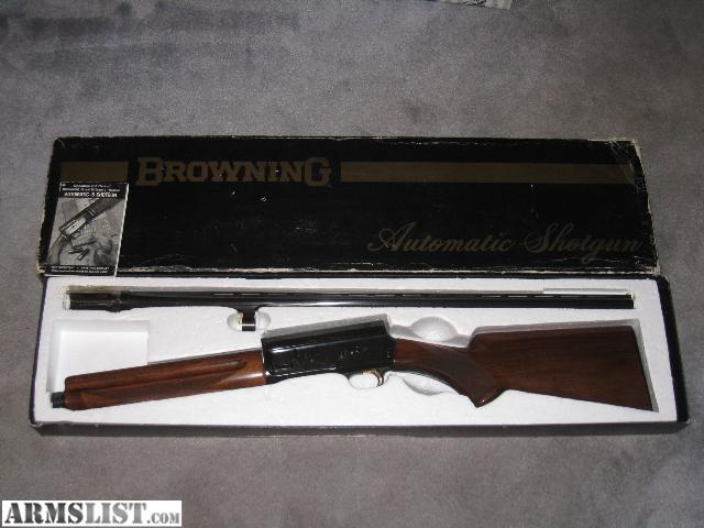 For Sale: New In Box Browning A5 Auto 5 A-5
