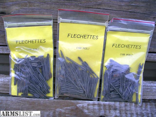 Armslist for sale steel flechettes