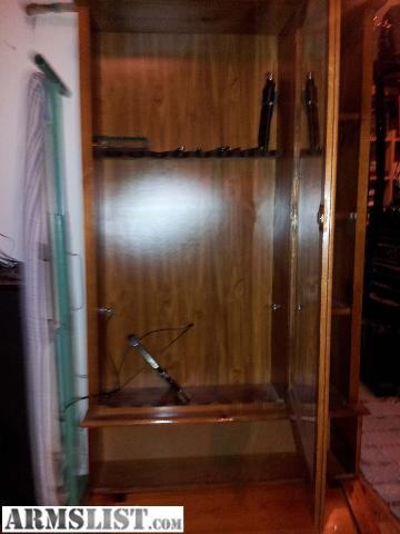 Gun safe with glass door gallery glass door design armslist for sale wood with glass door 8 gun gun cabinet i have a glass front planetlyrics Choice Image
