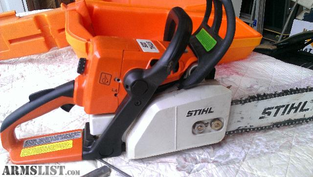 Armslist For Sale Trade Stihl 025 Saw With Case And Extras