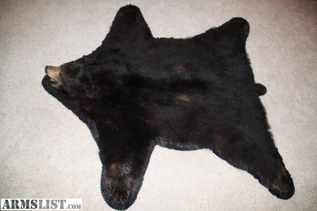 High Quality I Have For Sale Or Trade A Black Bear Rug Wall Tapestry. It Has Been On The  Wall Its Whole Life As A Rug. It Is In Excellent Condition And Is A ...