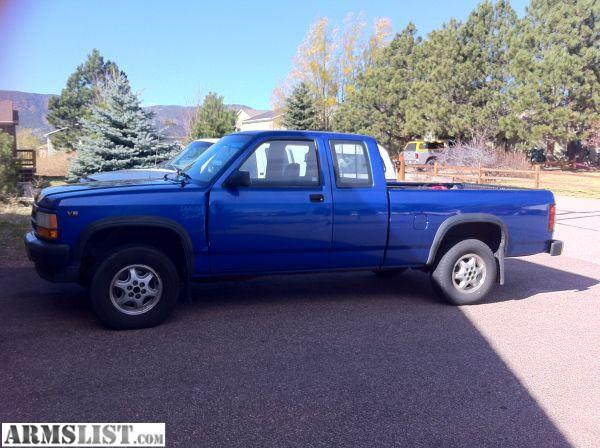 armslist for sale trade 1995 dodge dakota 4x4 old v6 reliable truck. Black Bedroom Furniture Sets. Home Design Ideas