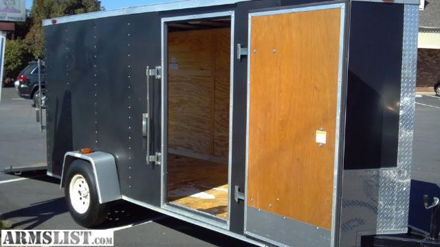 Armslist For Sale 6x12 Enclosed Trailer